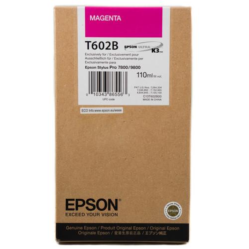 Epson T602 UltraChrome K3 Ink Cartridge 110ml- Magenta