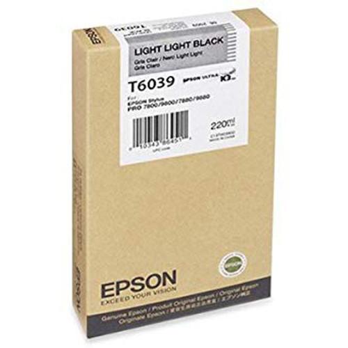Epson T603 UltraChrome K3 Ink Cartridge 220ml- Light Light Black