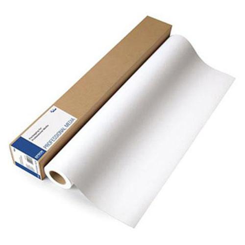"""Epson Enhanced Matte Inkjet Paper- 17"""" x 100' Roll"""