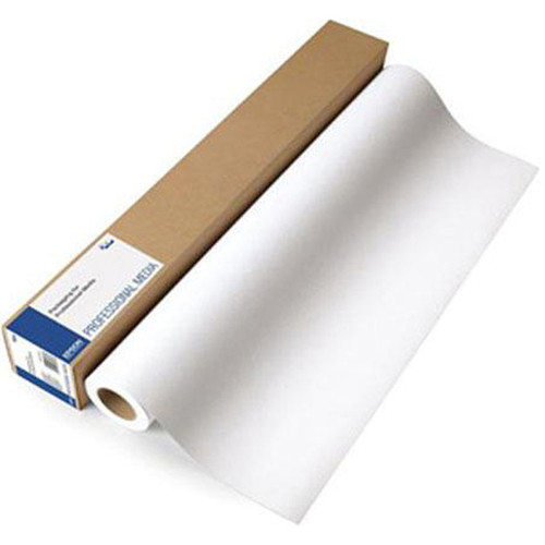 "Epson Enhanced Matte Inkjet Paper- 24"" x 100' Roll"