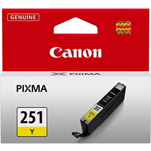 Canon CLI-251Y XL High-Capacity Ink Tank- Yellow