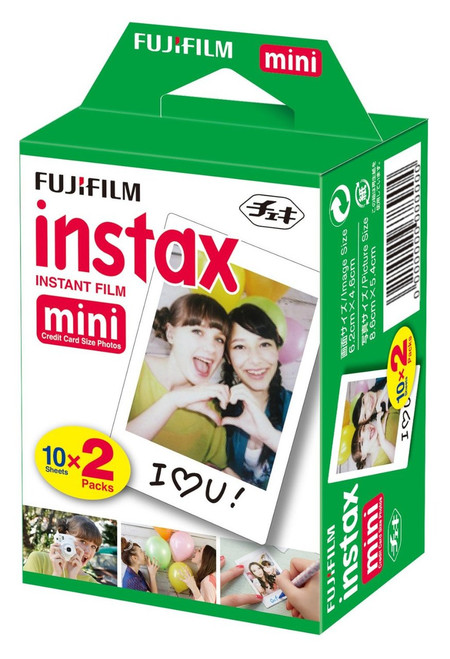 Fujifilm Instax Mini Instant Film- 20 Exposures