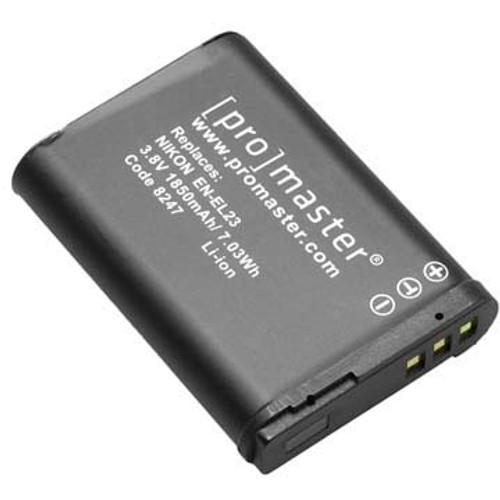 Promaster EN-EL23 Li-Ion Battery for Nikon