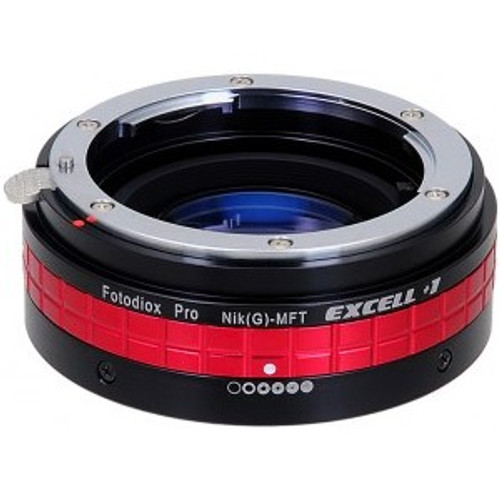 Fotodiox Excell +1 Micro 4/3 to Nikon G Mount Lens Adapter