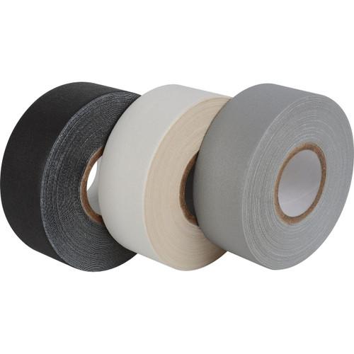 Pro-Gaff Gaffers Tape 1 Inch x 12 Yards Mini Roll- Gray