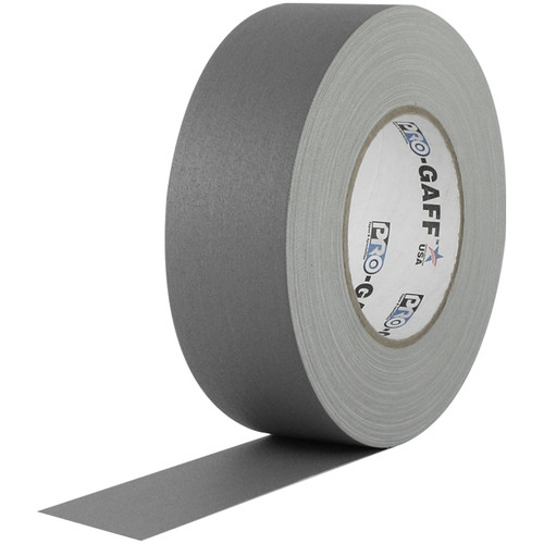 Pro-Gaff Gaffers Tape 1 Inch x 12 Yards Mini Roll- Gray