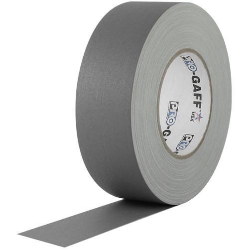 Pro-Gaff Gaffers Tape Mini Roll - 1 in x 12 yd Gray
