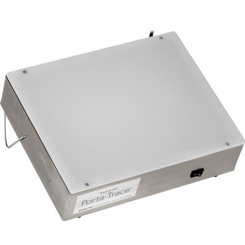 Porta-Trace 1012-2 Stainless Steel LED Light Box- 10 x 12""