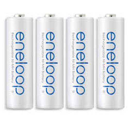 Panasonic Eneloop AA Rechargeable Ni-MH Batteries- 2000mAh, Pack of 4