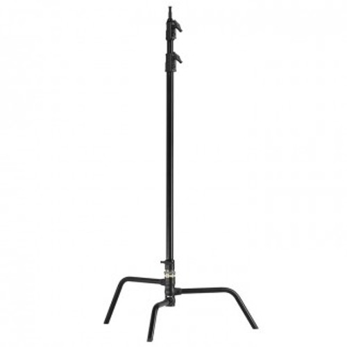 Kupo Master C-Stand with Turtle Base- Black, 9.7'