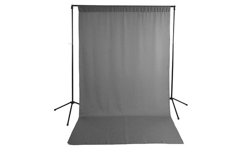 Savage Wrinkle-Resistant Polyester Background- Gray, 5x9'