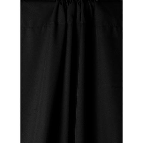 Savage Wrinkle-Resistant Polyester Background- Black, 5x9'