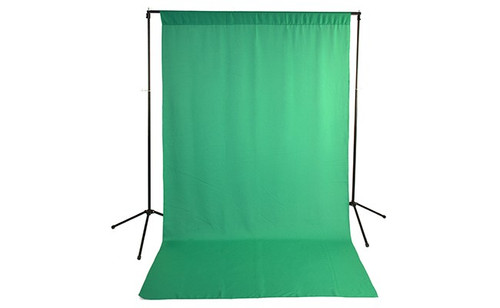 Savage Wrinkle-Resistant Background- Chroma Key Green, 5 x 9'