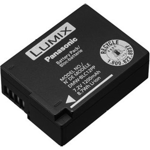 Panasonic DMW-BLC12 Rechargeable Lithium-Ion Battery- 7.2V, 1200mAh