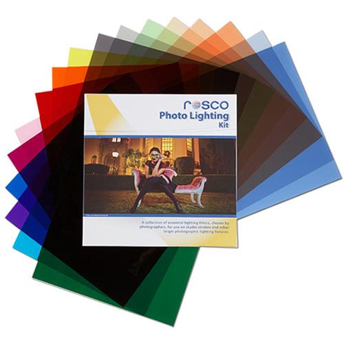 """Rosco Cinegel Photo Lighting Kit- 12 x 12"""""""