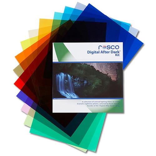 """Rosco Cinegel 12x12"""" Filter Kit - Digital After Dark"""