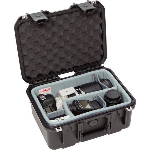 SKB iSeries 1309-6 Waterproof Case- Think Tank Designed Photo Dividers