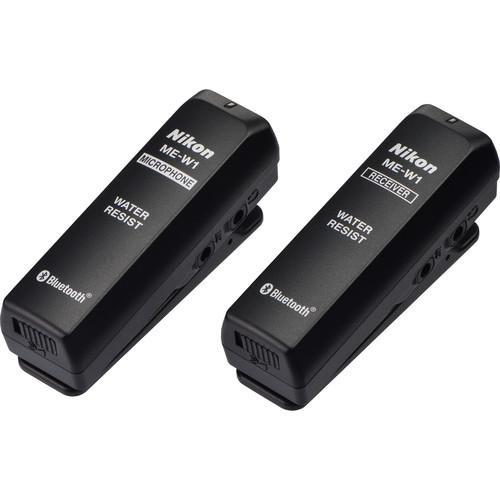 Nikon ME-W1 Wireless Microphone Set