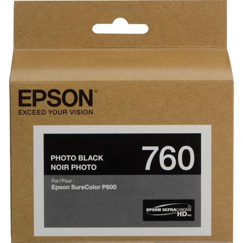 Epson T760 Ultrachrome HD Ink Cartridge- Photo Black