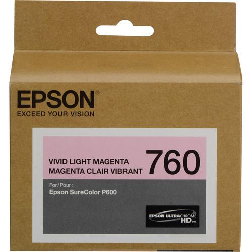 Epson T760 Ultrachrome HD Ink Cartridge- Vivid Light Magenta