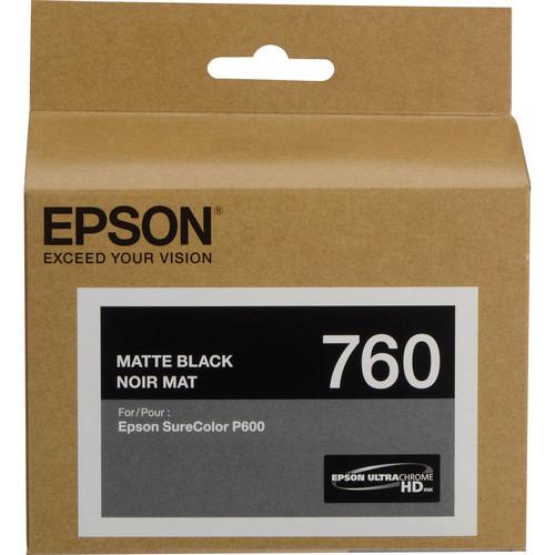 Epson T760 Ultrachrome HD Ink Cartridge- Matte Black