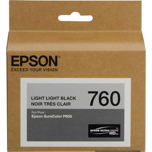 Epson T760 Ultrachrome HD Ink Cartridge- Light Light Black