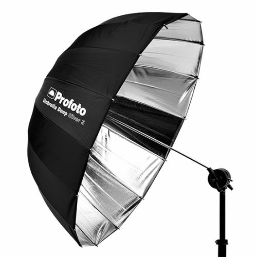 "Profoto Deep Small Umbrella- 33"", Silver"