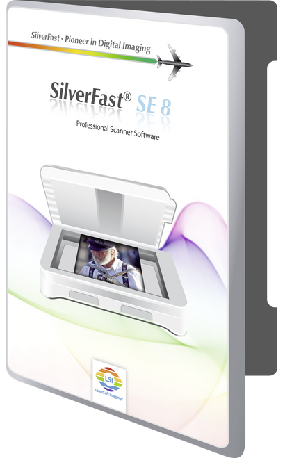 SilverFast SE 8.5 Scanner Software for Canon Cano-Scan 9000F Mk II