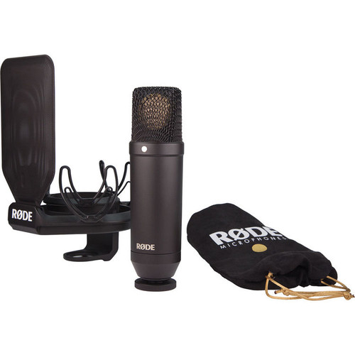 """Rode NT-1 KIT 1"""" Cardioid Condenser Microphone with SMR Shockmount"""