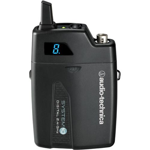 Audio-Technica ATW-1701/L System 10 Camera-Mount Digital Wireless System with Omni Lavalier Mic