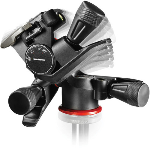 Manfrotto XPRO 3-Way Geared Pan-and-Tilt Head with 200PL-14 Quick Release Plate