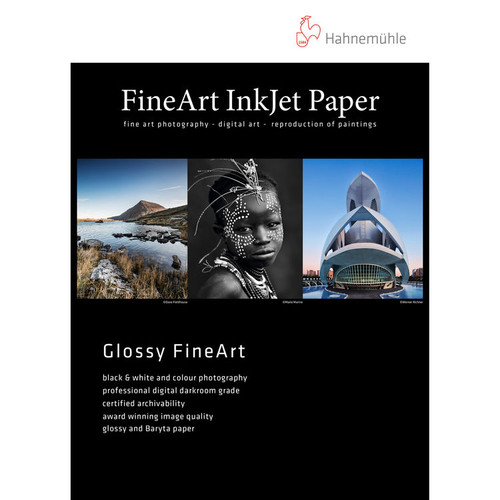 """Hahnemuhle FineArt Baryta Satin Paper- 13 x 19"""", 25 Sheets"""