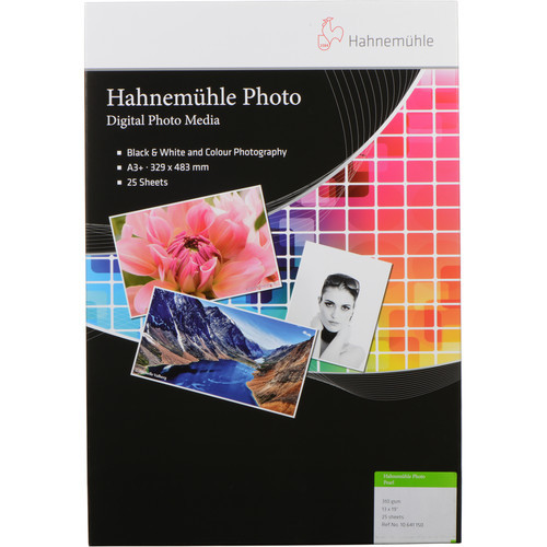 """Hahnemuhle Photo Pearl 310 Paper- 13 x 19"""", 25 Sheets"""