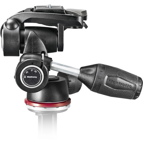 Manfrotto MH804 3-Way Pan-and-Tilt Head with 200LT-PL Quick Release Plate