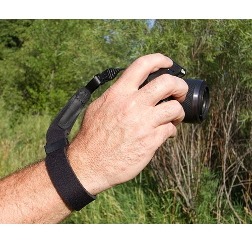 OP/TECH USA Wrist Strap for Mirrorless and Small SLR Cameras- Black