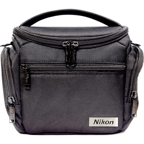 Nikon Compact Camera Bag for COOLPIX or Nikon 1 Camera- Black