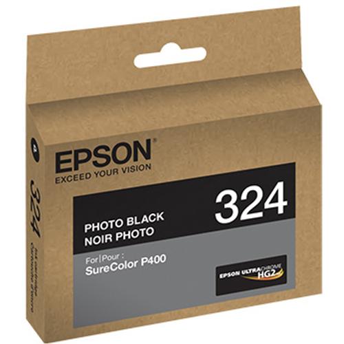 Epson T324 UltraChrome HG2 Ink- Photo Black
