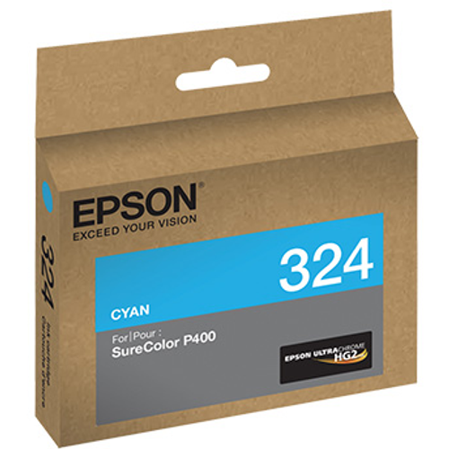Epson T324 UltraChrome HG2 Ink- Cyan