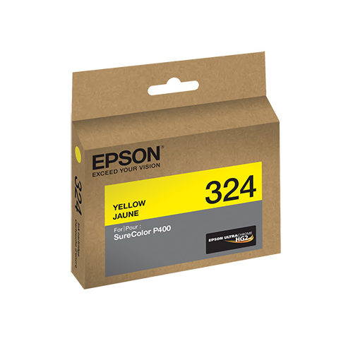 Epson T324 UltraChrome HG2 Ink- Yellow