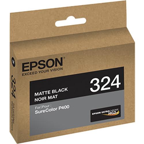 Epson T324 UltraChrome HG2 Ink- Matte Black