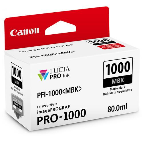 Canon PFI-1000 Lucia PRO Ink Tank- Matte Black
