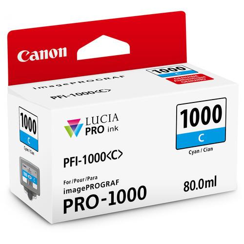 Canon PFI-1000 Lucia PRO Ink Tank- Cyan