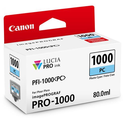 Canon PFI-1000 Lucia PRO Ink Tank- Photo Cyan