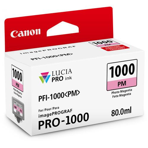 Canon PFI-1000 Lucia PRO Ink Tank- Photo Magenta