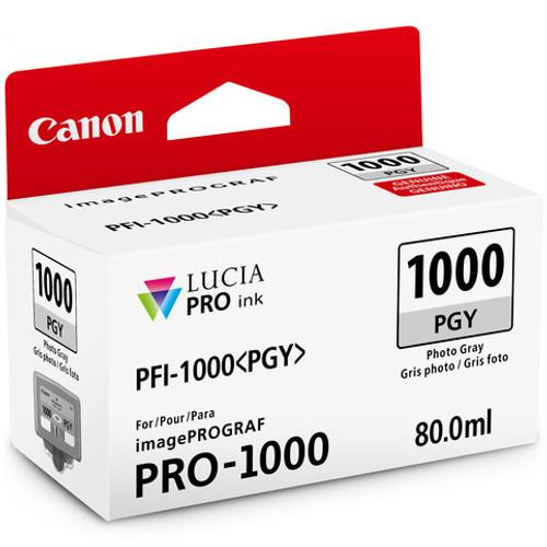 Canon PFI-1000 Lucia PRO Ink Tank- Photo Gray