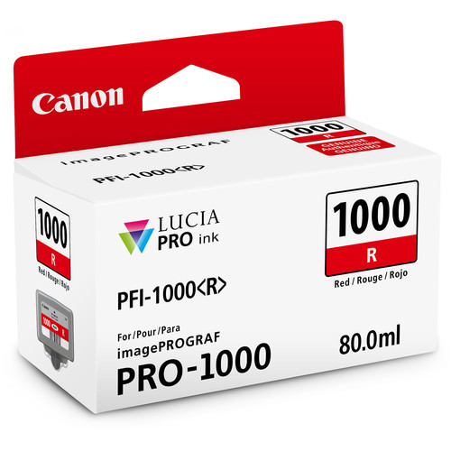 Canon PFI-1000 Lucia PRO Ink Tank- Red