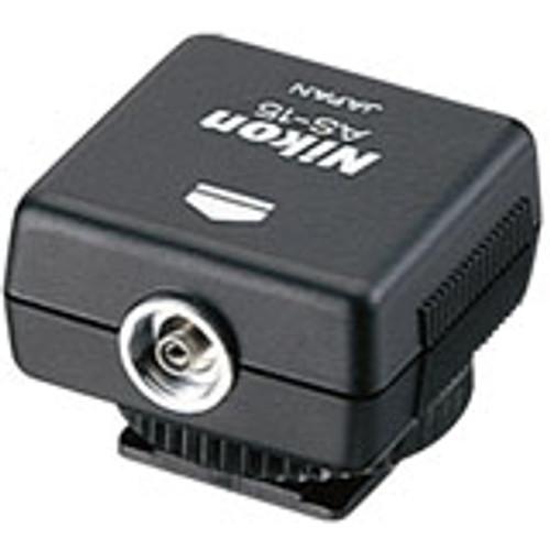 Nikon AS-15 Sync Terminal Shoe Adapter