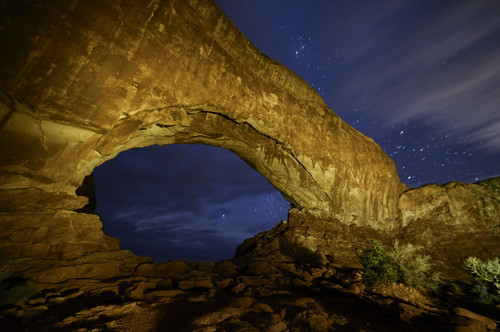 Light Painting Night Photography