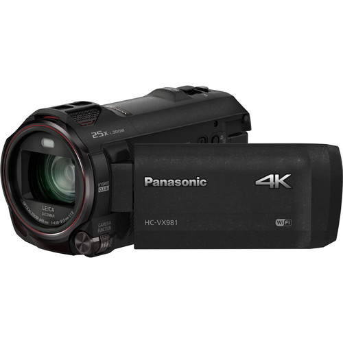Panasonic HC-VX981K 4K Digital Camcorder