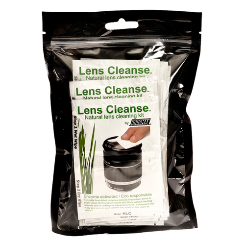 Hoodman Lens Cleanse Natural Lens Cleaning Kit- 12-Pack
